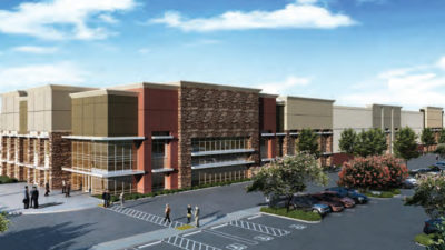 Big Box Building gets Pre-Leased